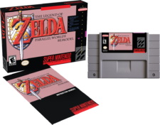 Legend of Zelda Parallel Worlds Remodel SNES