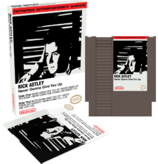 NES Rick Astley Never Gonna Give You Up