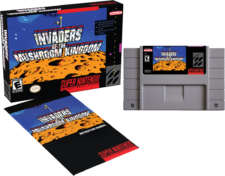 SNES Invaders of the Mushroom Kingdom