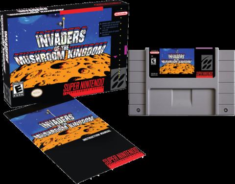 SNES Invaders of the Mushroom Kingdom