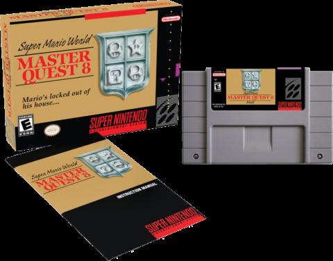 Super Mario World Master Quest 8 SNES